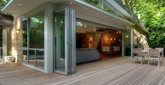 Another Option For Patio Doors On A Grander Scale Are Bi Folding Doors Or Sliding  Glass Walls. You Can View Information About These Options On Our ...